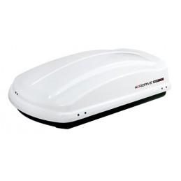 Box 330  box tetto in ABS  330 litri - Bianco lucido