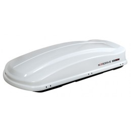 Box 530  box tetto in ABS  530 litri - Bianco lucido