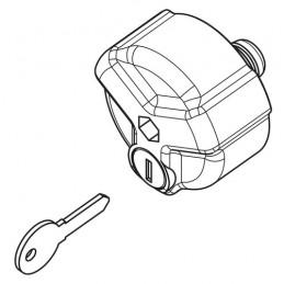 Manopola serraggio con serratura