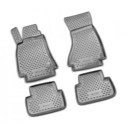 Set tappeti su misura in TPE -  Audi A4 4p (11 07 10 15) - no ponte -  Audi A4 Avant (05 08 10 15)