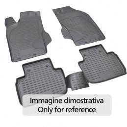 Set tappeti su misura in TPE -  Bmw Serie 3 (E90) 4p (03 05 01 12) - con kit fumat. - p oggetti post. -  Bmw Serie 3 Touring (E9