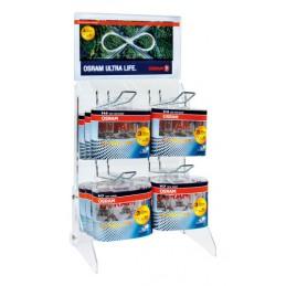 Espositore in acrilico - Ultra Life - Duo Box (4 ganci)