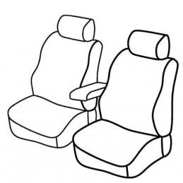 Set coprisedili Superior - Nero Blu - Citroen Nemo Van (van) (12 08 ) - Fiat Fiorino (van) (09 08 ) - Peugeot Bipper (van) (05 0