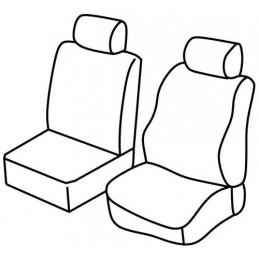 Set coprisedili Superior - Nero Blu - Fiat Fiorino (van) (09 08 )
