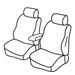 Set coprisedili Superior - Nero Blu - Fiat Doblò Cargo (van) (Fino al 2007) (11 00 2007)