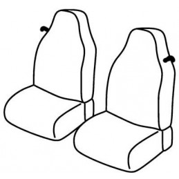 Set coprisedili Superior - Beige - Smart Fortwo (01 07 10 14)