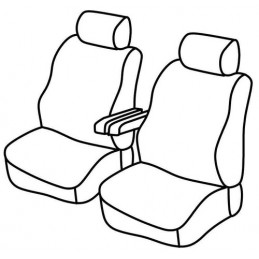 Set coprisedili Superior - Nocciola - Volkswagen Transporter T5 (van) (04 03 03 15)