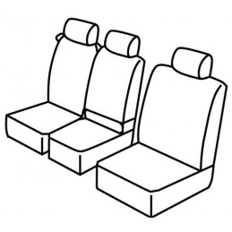 Set coprisedili Superior - Nero Grigio - Ford Transit Connect (van) (11 13 )