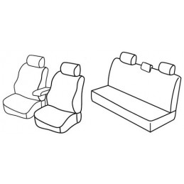 Set coprisedili Superior - Beige - Dacia Duster (05 10 05 12)