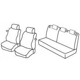 Set coprisedili Superior - Beige - Ford Fiesta 3p (11 02 08 08)