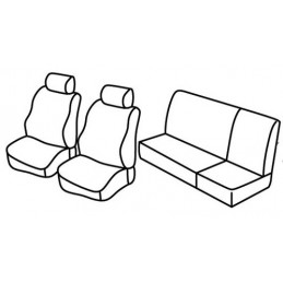 Set coprisedili Superior - Beige - Land Rover Defender 5p (01 90 07 10)
