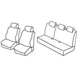 Set coprisedili Superior - Nocciola - Nissan Micra 5p (01 03 09 07)