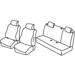 Set coprisedili Superior - Beige - Nissan Micra (03 17 )