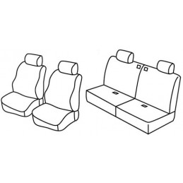 Set coprisedili Superior - Nocciola - Suzuki Jimny 3p (01 98 10 18)