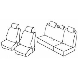 Set coprisedili Superior - Beige - Hyundai i10 (04 08 10 13)