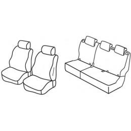 Set coprisedili Superior - Beige - Hyundai i10 (11 13 )