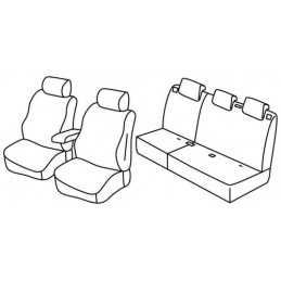 Set coprisedili Superior - Beige - Ford Ecosport (02 18 )