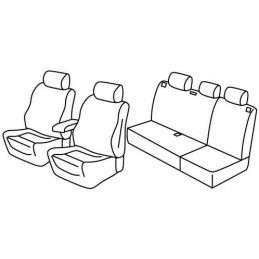 Set coprisedili Superior - Beige - Jeep Grand Cherokee (Sport) (06 05 12 10)