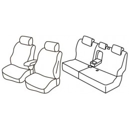 Set coprisedili Superior - Beige - Jeep Grand Cherokee (Limited CRD) (05 13 11 16)