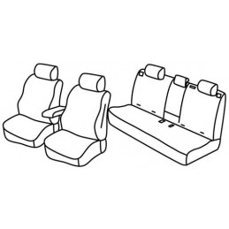 Set coprisedili Superior - Beige - Jeep Compass (07 17 )