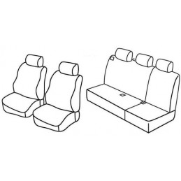 Set coprisedili Superior - Beige - Land Rover Freelander (fino al 9 2003) (10 97 09 03)