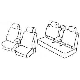 Set coprisedili Superior - Nocciola - Subaru Forester (04 08 01 13)