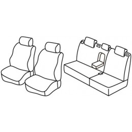 Set coprisedili Superior - Beige - Ssangyong Kyron (11 06 12 11)