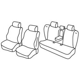 Set coprisedili Superior - Nocciola - Volvo S60 (09 10 10 18)