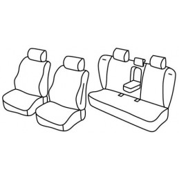 Set coprisedili Superior - Beige - Volvo S60 (09 10 10 18)
