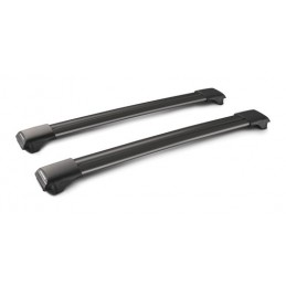 Rail Black  coppia barre portatutto in alluminio - 97 cm