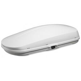 Box tetto di dimensioni medie - Bianco lucido