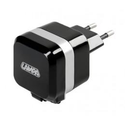 Caricabatteria da rete Micro Usb con 1 porta Usb - Fast Charge - 2400 mA - 100 230V