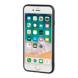 Duo pocket  cover bicolore con inserti metallici - Apple iPhone 7   8 - Nero Rosso