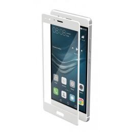 Phantom  vetro temperato protettivo da bordo a bordo - Huawei P9 - Glossy White