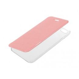 Clear Back  cover trasparente con sportello protettivo - Apple iPhone 6   6s - Oro Rosa
