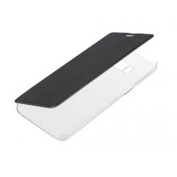 Clear Back  cover trasparente con sportello protettivo - Samsung Galaxy S8 - Nero