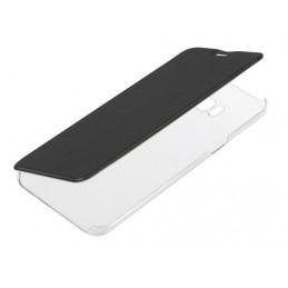 Clear Back  cover trasparente con sportello protettivo - Samsung Galaxy S8+ - Nero