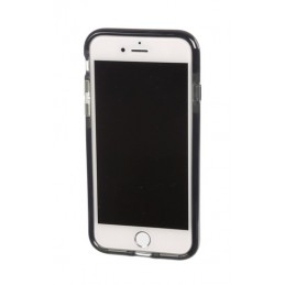 Alpha Guard  cover ultra protettiva anti-shock flessibile - Apple iPhone 7   8 - Fumè Nero