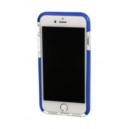 Alpha Guard  cover ultra protettiva anti-shock flessibile - Apple iPhone 7   8 - Trasparente Blu