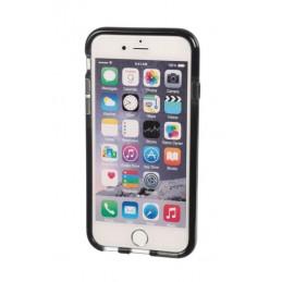 Alpha Guard  cover ultra protettiva anti-shock flessibile - Apple iPhone 6   6s - Fumè Nero