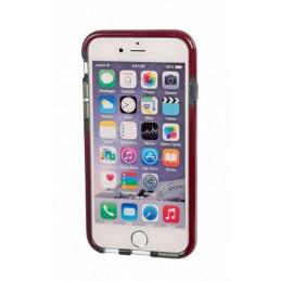 Alpha Guard  cover ultra protettiva anti-shock flessibile - Apple iPhone 6   6s - Fumè Rosso