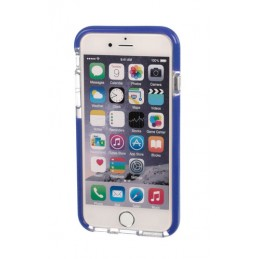Alpha Guard  cover ultra protettiva anti-shock flessibile - Apple iPhone 6   6s - Trasparente Blu