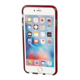 Alpha Guard  cover ultra protettiva anti-shock flessibile - Apple iPhone 6 Plus   6s Plus - Fumè Rosso