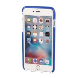 Alpha Guard  cover ultra protettiva anti-shock flessibile - Apple iPhone 6 Plus   6s Plus - Trasparente Blu