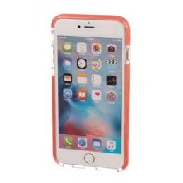 Alpha Guard  cover ultra protettiva anti-shock flessibile - Apple iPhone 6 Plus   6s Plus - Trasparente Rosa