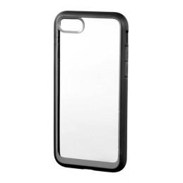 Prime  cover protettiva con cornice colorata - Apple iPhone 7   8 - Trasparente Nero