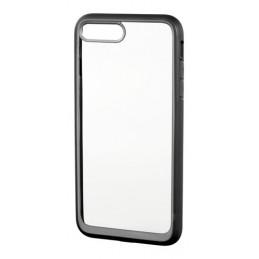 Prime  cover protettiva con cornice colorata - Apple iPhone 7 Plus   8 Plus - Trasparente Nero