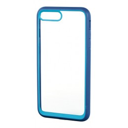 Prime  cover protettiva con cornice colorata - Apple iPhone 7 Plus   8 Plus - Trasparente Blu