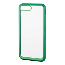 Prime  cover protettiva con cornice colorata - Apple iPhone 7 Plus   8 Plus - Trasparente Verde