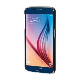 Stylish  cover gommata sottile - Samsung Galaxy S6 - Nero